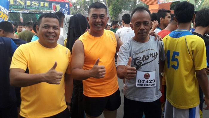 Dandim 0818 Kab Malang-Batu Ikut Lari 10 Km