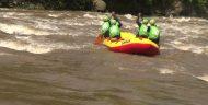 Atlet Nasional Arung Jeram Taklukkan Sungai Pekalen Probolinggo