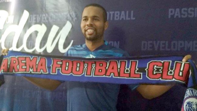 Arema FC Rekrut Striker Bhayangkara FC, Thiago Furtuoso