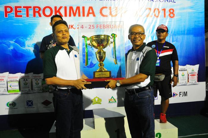 PG Juara Umum Kejurnas Renang Petrokimia CUP IX 2018