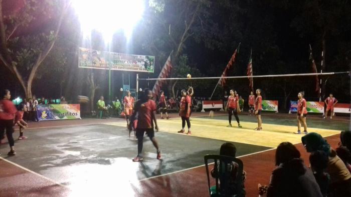 Danyonif Raider 514 Gelar Lomba Volley