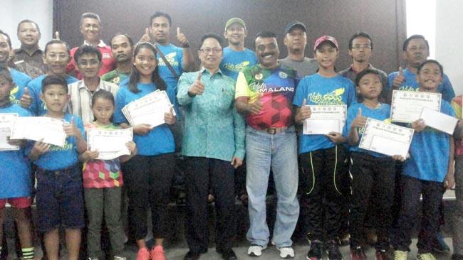 Harumkan Kota Malang, Atlet Sepatu Roda Dapat Reward di Polinema
