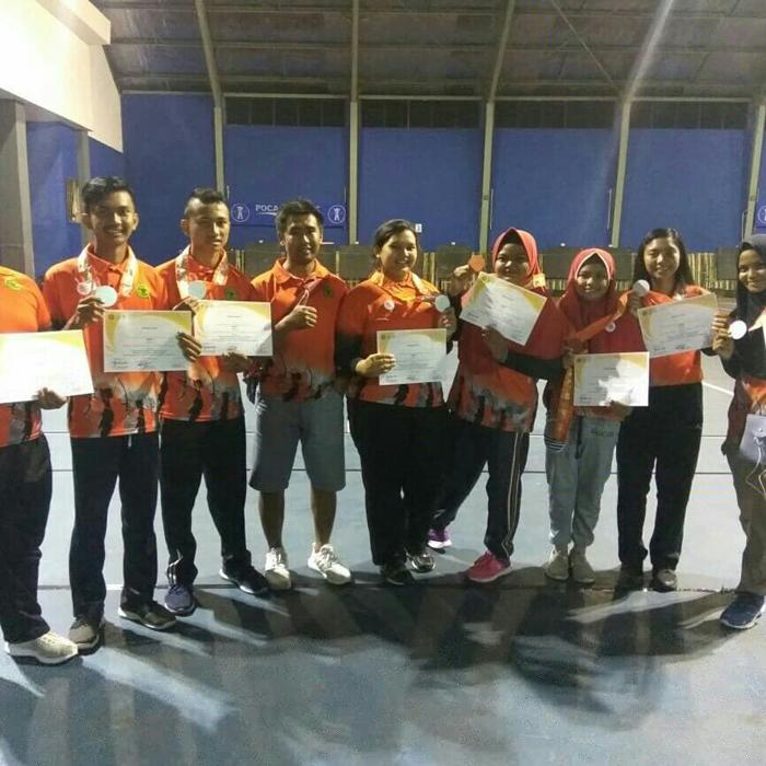 Panahan Beregu Situbondo, Raih 2 Perak dan 1 Perunggu di Kejurnas Panahan BAC 2018