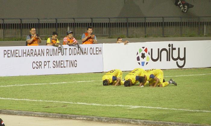 Persegres GU Tekuk Persigo Semeru FC 2-1