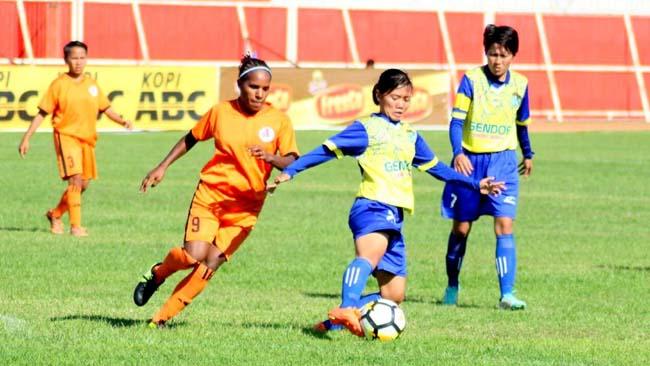Tim FC Putri Kediri Pecundangi FC Gresik 3-0
