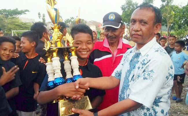 SMPN 2 Kota Kediri Rajai Kompetisi  U-13 Piala Soeratin PSSI Kota