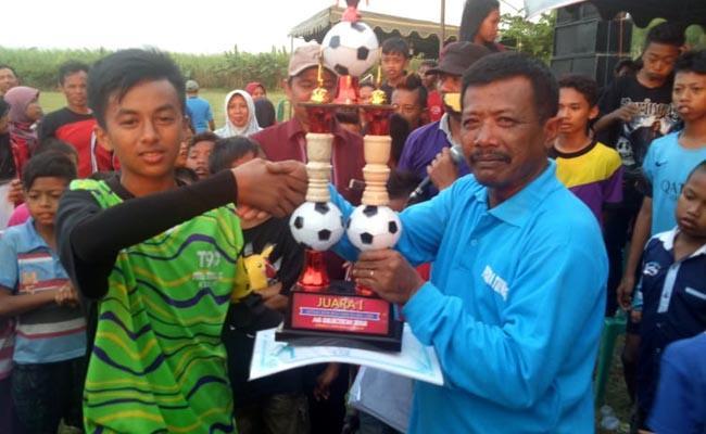 SSB Putra Tunggal Sambirejo Juara III Piala Menpora U-14