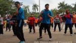 Jelang Asian Games, Wabup Trenggalek Ajak Masyarakat Senam Poco – Poco