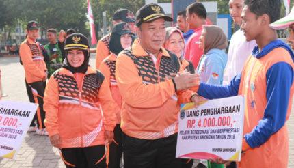 Bupati Fadeli Targetkan 5 Besar di Ajang Porprov VI Jatim 2019