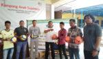 Bantuan Alat Olahraga,Kartar AKSO Cetak Pemuda Berprestasi