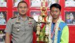 Atlet Kempo Polres Malang Raih Medali Emas Porprov Jatim 2018