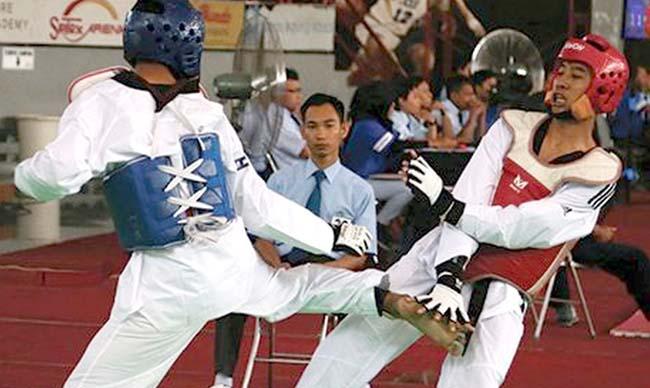 SUMBANG MEDALI: Cabor taekwondo menyumbangkan 1 medali perak dan 2 medali perunggu bagi kontingen Bondowoso di Porprov Jatim V/2019