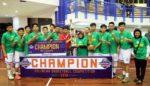 SMAN 8 Malang dan SMAN 1 Glagah Sabet Juara Pertama Polinema Basketball Competition 2019